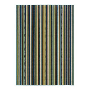 StyleHaven Cayman Striped Indoor Outdoor Rug