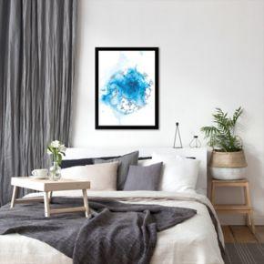 Americanflat Paula Mills ''Blue Plate Wash'' Framed Wall Art