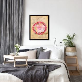 Americanflat Paula Mills ''Circle Collage'' Framed Wall Art