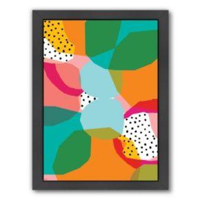 Americanflat Paula Mills ''Geometric Shapes'' Framed Wall Art