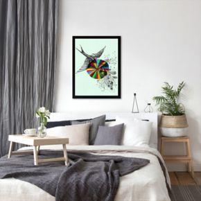 Americanflat Paula Mills ''Song Fine'' Framed Wall Art