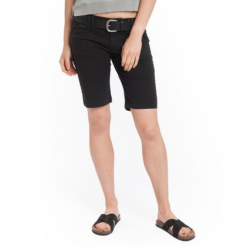 Unionbay Twill Juniors' Bermuda Shorts