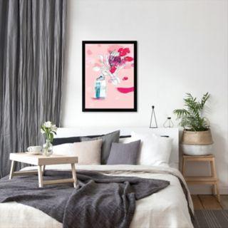 Americanflat Paula Mills ''Vast Flower'' Framed Wall Art