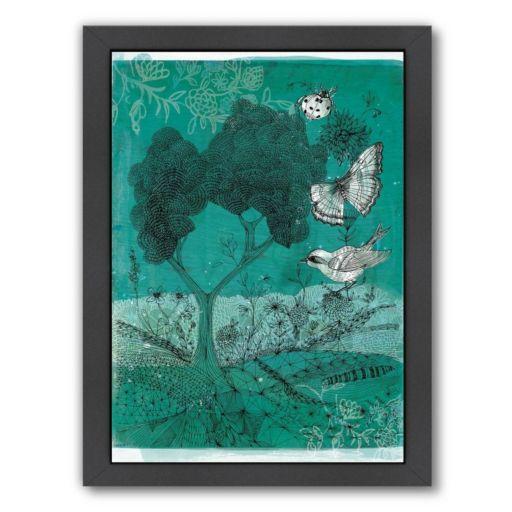 Americanflat Paula Mills ''Wilderness'' Framed Wall Art