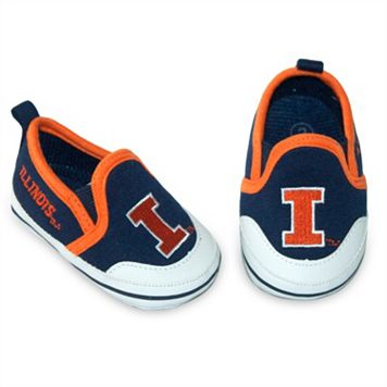Baby Illinois Fighting Illini Crib Shoes
