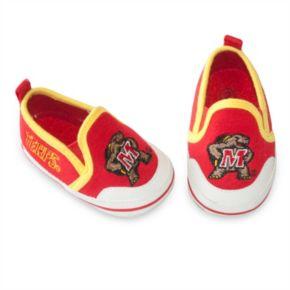 Baby Maryland Terrapins Crib Shoes