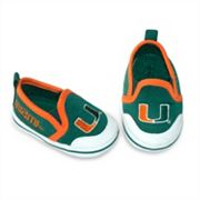 Miami Hurricanes Crib Shoes - Baby