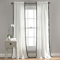 Lush Decor Pom Pom Curtain - 50'' x 84''