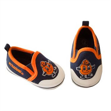 Baby Syracuse Orange Crib Shoes