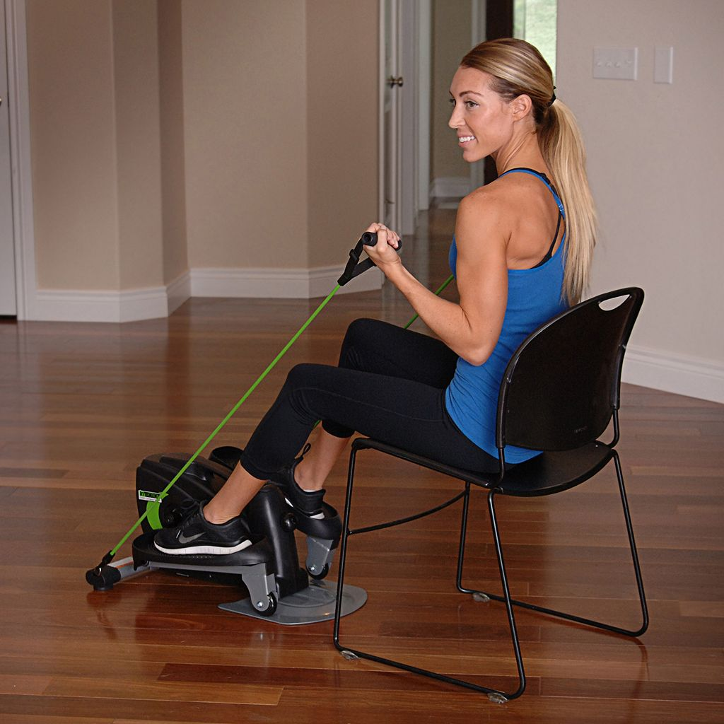 Stamina InMotion Compact Fitness Strider and Resistance Tubes