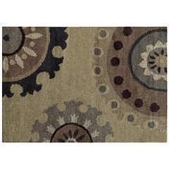 StyleHaven Dalton Overscale Floral Shag Rug