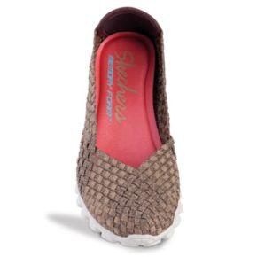 Skechers Relaxed Fit EZ Flex 2 Rockin' Women's Stretch Weave Slip-On Flats