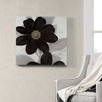 Madison Park ''Midnight Bloom'' Canvas Wall Art