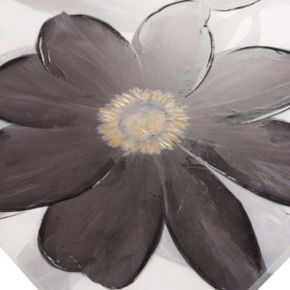 Madison Park ''Midnight Bloom'' Canvas Wall Art