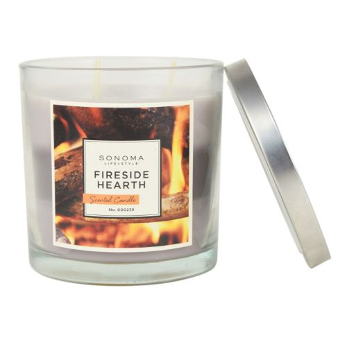 SONOMA Goods for Life™ Fireside Hearth 14-oz. Jar Candle