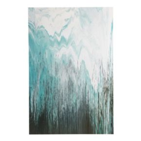 INK+IVY ''Abstracted Chevron'' Canvas Wall Art