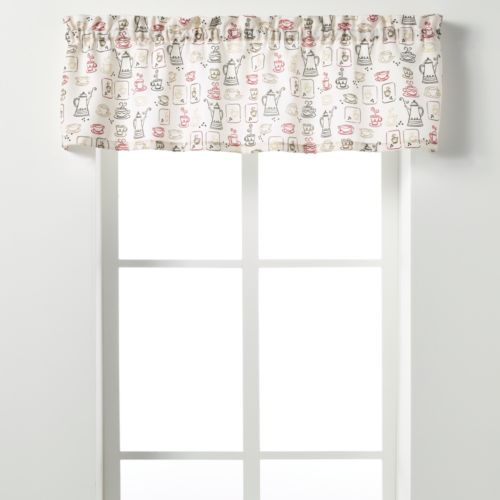 Saturday Knight, Ltd. Breaktime Straight Valance - 58'' x 13''