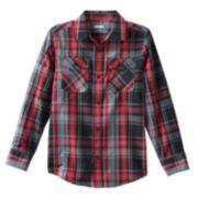 Tony Hawk® Plaid Button-Down Shirt - Boys 8-20
