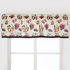 Saturday Knight, Ltd. Fruits Du Marche Straight Window Valance - 57'' x 13''