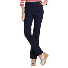 Petite Gloria Vanderbilt Amanda Color Tapered Twill Pants