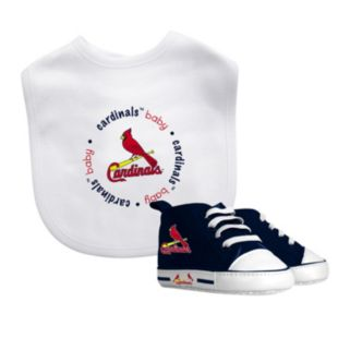 Baby Fanatic St. Louis Cardinals Bib and Pre-walker Set