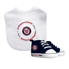 Baby Fanatic Washington Nationals Bib and Pre-walker Set
