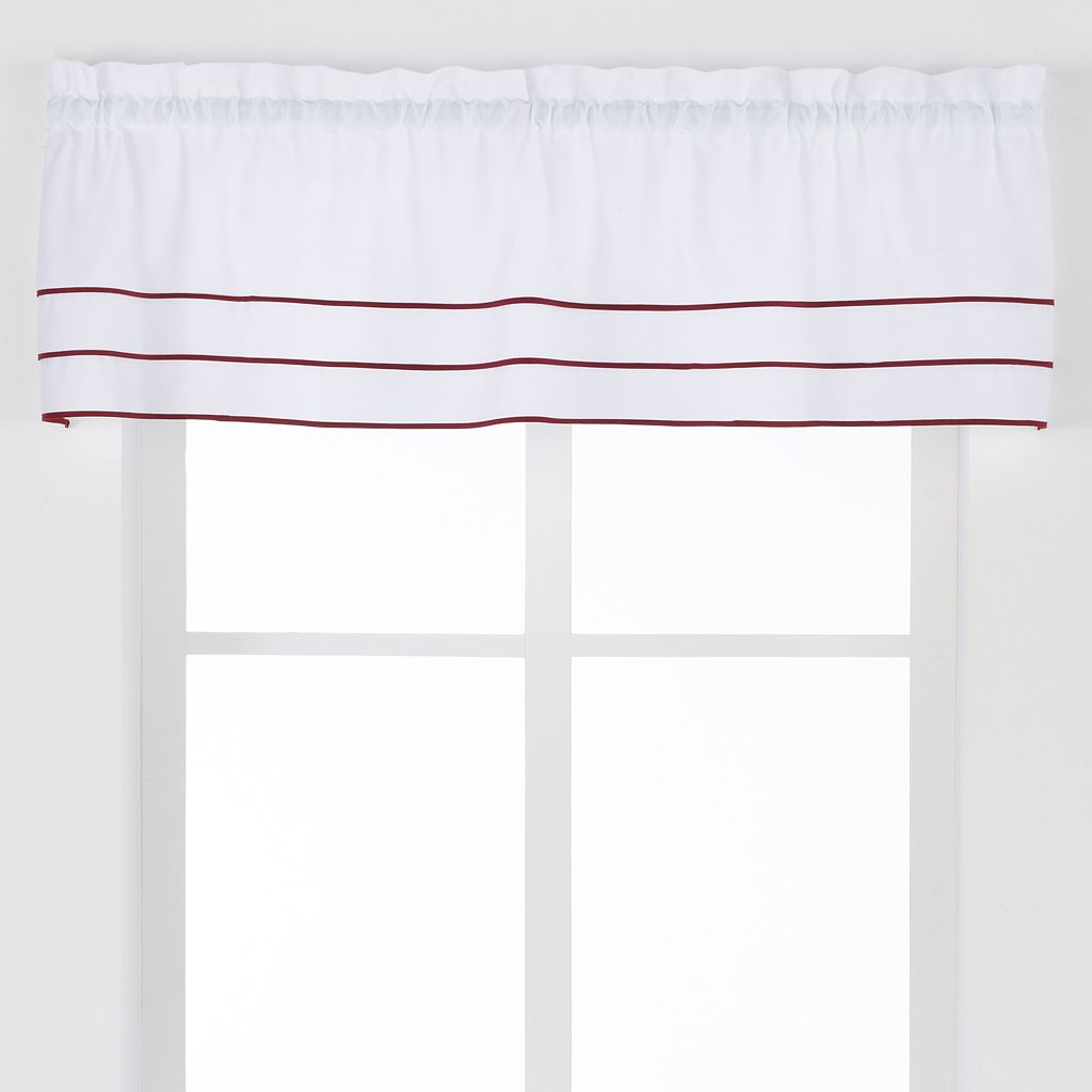 Saturday Knight, Ltd. Anna Pleated Straight Window Valance - 57'' x 13''