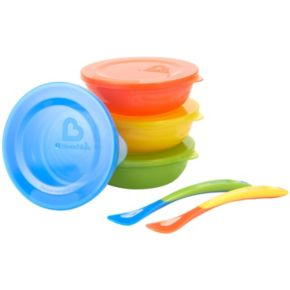 Munchkins 6-pc. Bowl & Spoon Set
