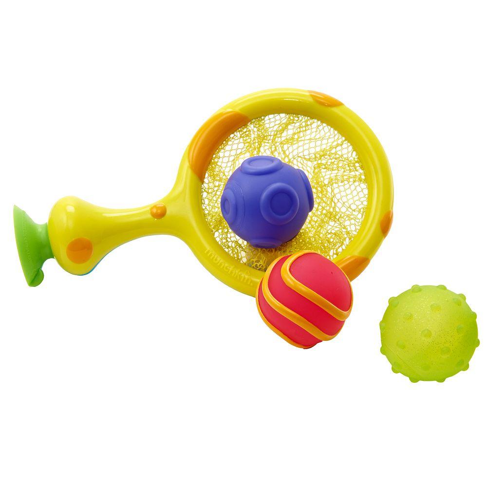 Munchkin Basketball Hoop Bath Toy Set