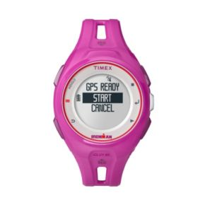 Timex Women's Ironman Run X20 Digital GPS Watch - TW5K87400F5