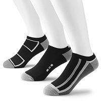 Men's Tek Gear® 3 pkPerformance No-Show Socks