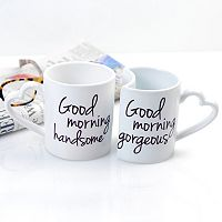 Cathy's Concepts Good Morning 2 pc Coffee Mug Set