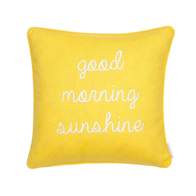 Kohls Yellow Throw Pillow : Bright Decorative Pillow Kohl s