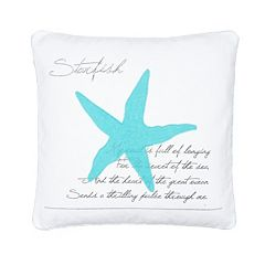 Calero Starfish Throw Pillow