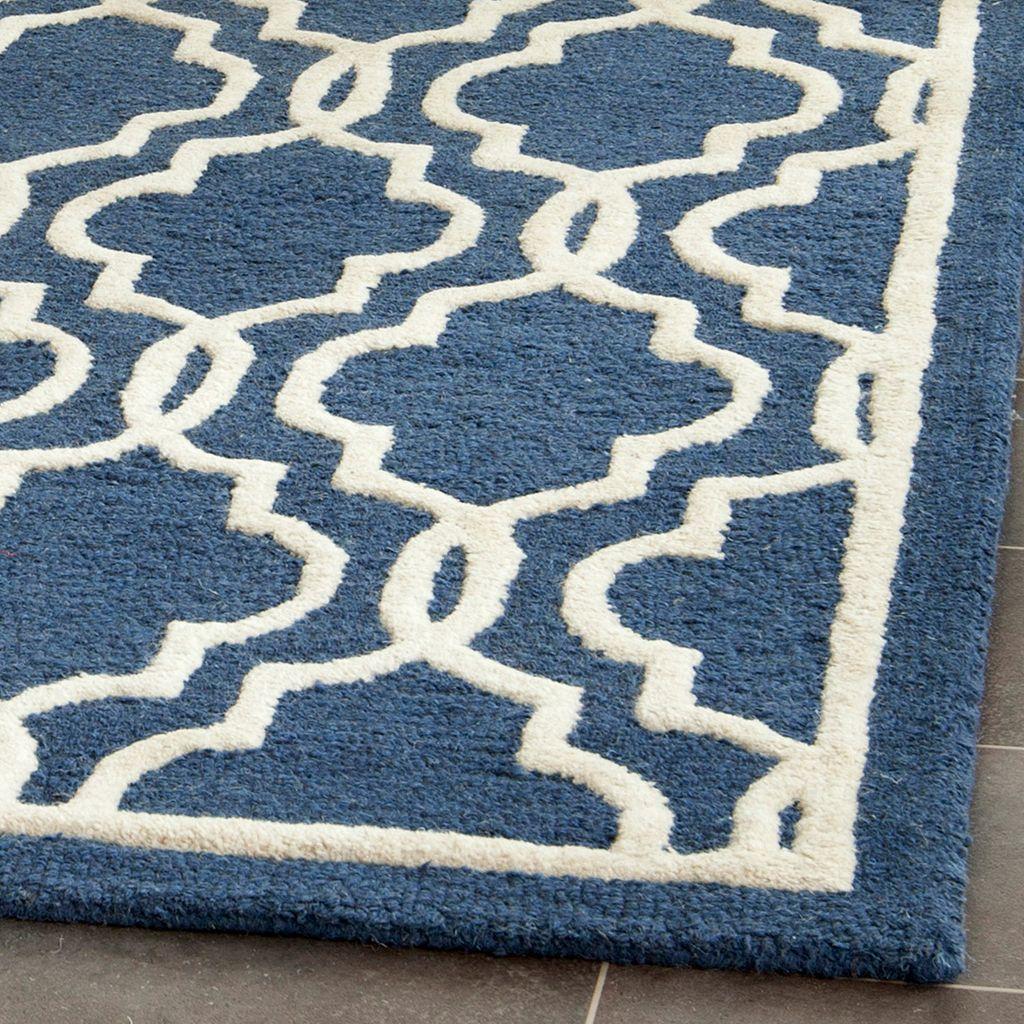 Safavieh Cambridge Trellis Overlap Wool Rug
