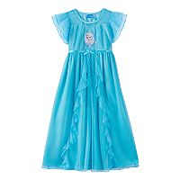 Disney's Frozen Elsa Sparkle Dress-Up Nightgown - Girls 4-10