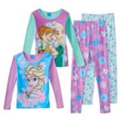 Disney's Frozen Anna & Elsa Graphic Pajama Set - Girls 4-10