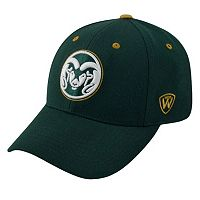 Adult Top of the World Colorado State Rams Triple Threat Adjustable Cap