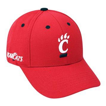 Adult Top of the World Cincinnati Bearcats Triple Threat Adjustable Cap