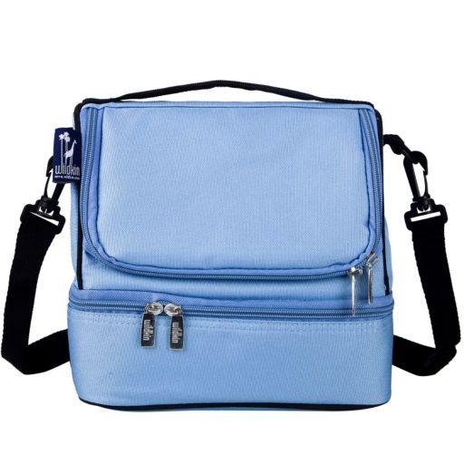 Kids Wildkin Zippered Double Decker Lunch Bag