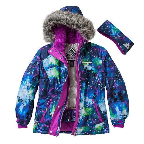 d4ae7ce3a Girls 7-16 ZeroXposur Yola Hooded Snowboard Jacket