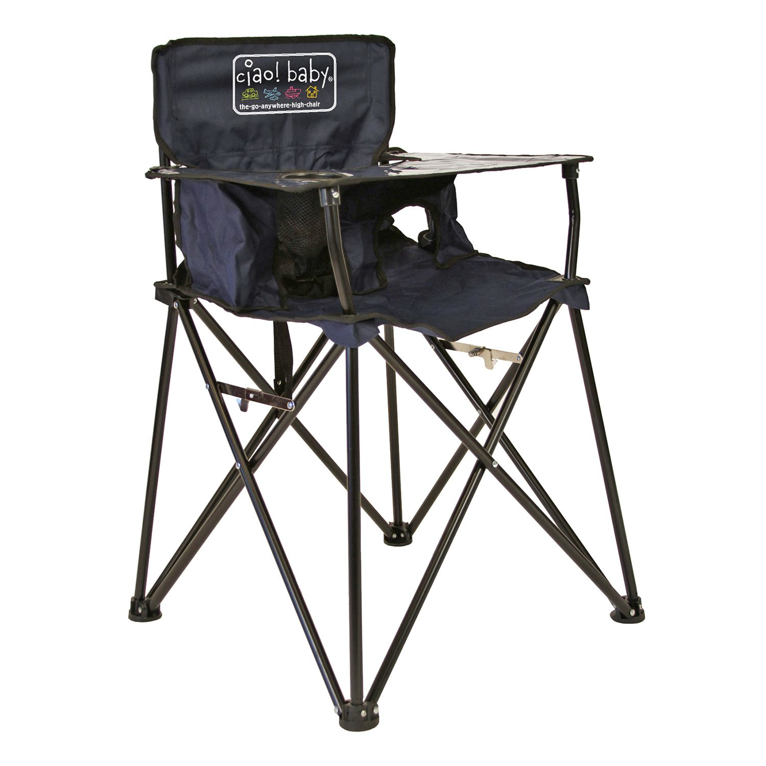 Evenflo majestic high chair - Ciao Baby Portable High Chair With Evenflo Compact Fold High Chair