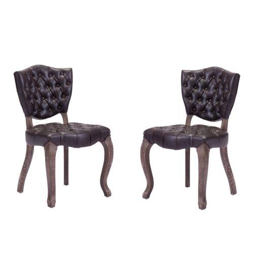 Zuo Era 2-piece Leavenworth Dining Chair Set