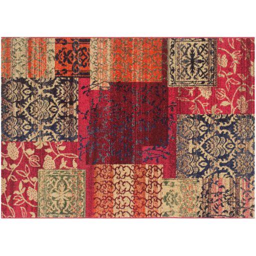 Safavieh Monaco Distressed Ornate Patchwork Rug