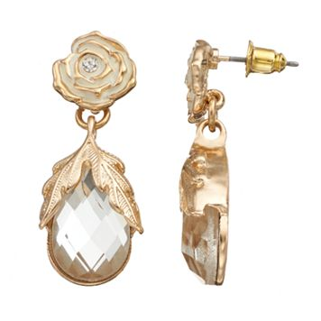 GS by gemma simone Fresh Cut Flowers Collection Teardrop Earrings