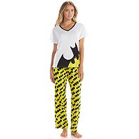 Batgirl Tee & Pants Pajama Set - Juniors