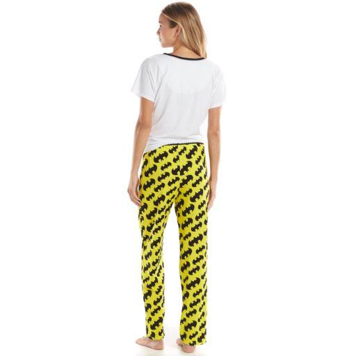 Batgirl Tee & Pants Pajama Set - Juniors