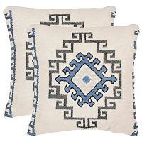 Safavieh 2-piece Open Sky Throw Pillow Set