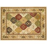 Safavieh Lyndhurst Framed Diamonds Rug