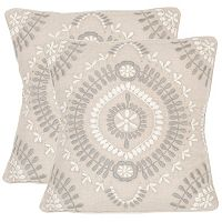 Safavieh 2-piece Aiyana 20'' x 20'' Throw Pillow Set